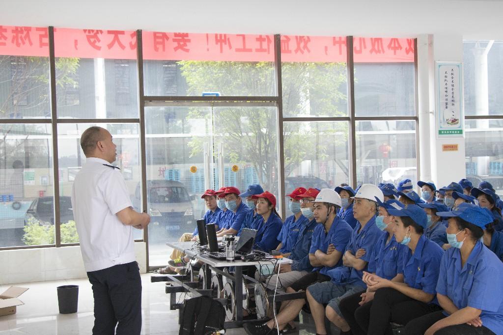 卫生纸厂家开展消防培训.jpg