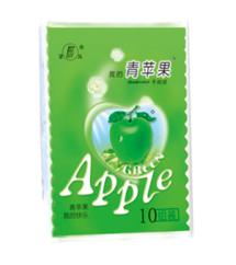望风青苹果手帕纸10包装