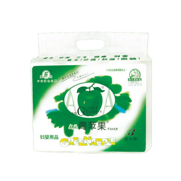 望风青苹果无芯长棒3卷.180492