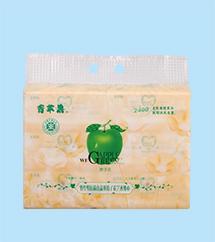 竹纤维抗菌娇子花艺术纸巾0510