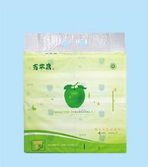 青苹果竹纤维娇子花艺术纸巾2019