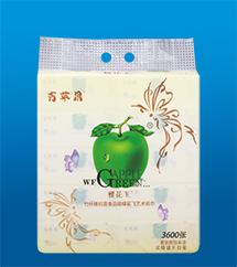 蝶花飞竹纤维艺术纸巾1012