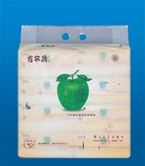 竹纤维抗菌娇子花艺术纸巾2019