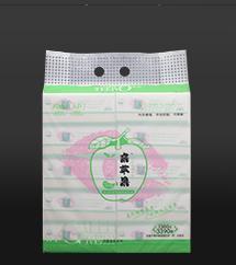 亲苹果本色抽取式面巾纸0305